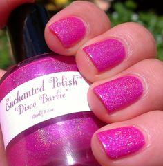 Disco Barbie - Enchanted Polish.