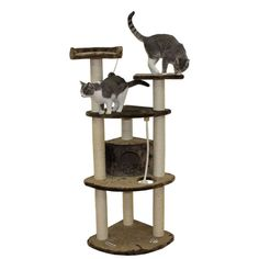 The mocha Toronto Cat Tree ** Startling review available here  : Cat Tree and Tower