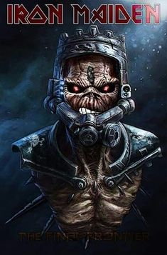 Heavy Metal Rock, Heavy Metal Bands, Arte Horror, Horror Art, Style Punk Rock, Iron Maiden Mascot, Arte Pink Floyd, Iron Maiden Posters, Iron Maiden Albums