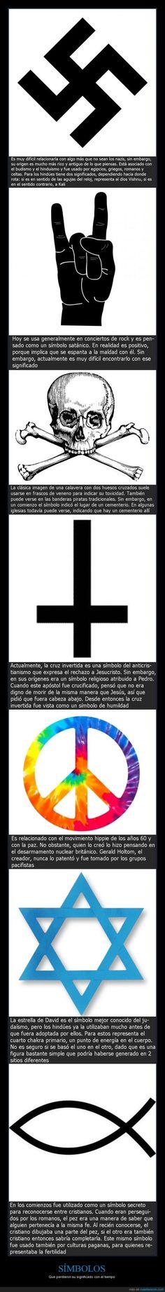 SÍMBOLOS - Que perdieron su significado con el tiempo   Gracias a http://www.cuantarazon.com/   Si quieres leer la noticia completa visita: http://www.estoy-aburrido.com/simbolos-que-perdieron-su-significado-con-el-tiempo/