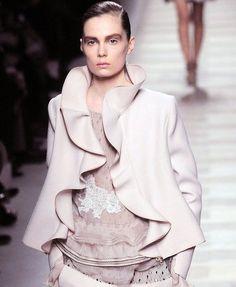 valentino ruffle jacket