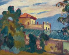 The Villa, 1913. Louis Valtat