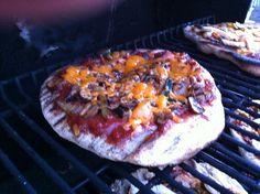 Veggie BBQ Pizza