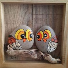 "Find and save images from the ""Kreativ - Rock / Stone / Pebble Art"" collection by Gabis Welt :) (gabi_zitzen) on We Heart It, your everyday app to get lost in what you love. Pebble Painting, Pebble Art, Stone Painting, Diy Painting, Stone Crafts, Rock Crafts, Arts And Crafts, Bird Crafts, Fun Crafts"