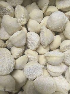 Witte chocolade truffels met Cocos