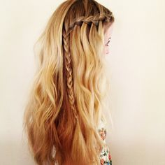 Obsessed with braids.
