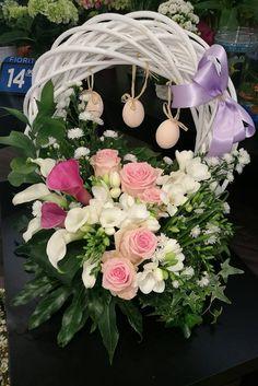Idee floreali per celebrare la Pasqua! #fiori #composizioni #floreali #pasqua