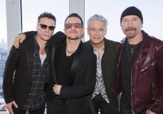 U2 press conference for Ordinary Love in New York City - 7 December 2013
