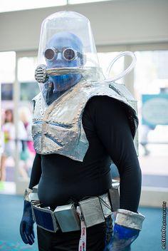 Mr. Freeze, Batman, photo by Erik Estrada.