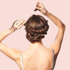 DIY Wedding Updos - Martha Stewart Weddings Fashion & Beauty