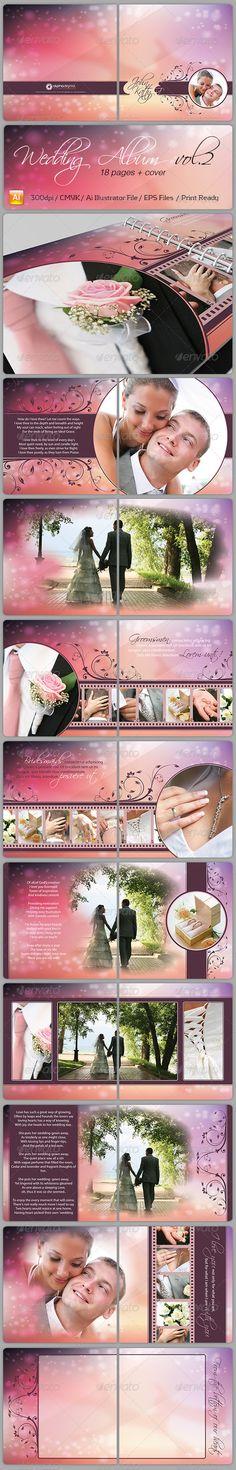 Wedding Album Vol.2 - Albumok nyomtatási sablonok