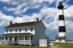 SHOT OF THE DAY: Bodie Island Lighthouse on the OBX by Sandra Snyder. Have you visited?  A Loooong walk to the top!