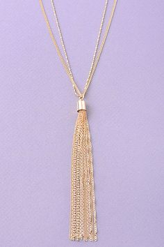 Can't Be Swayed Necklace (Silver)