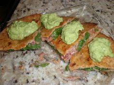 vegan hummus quesadillas... my new fav food.