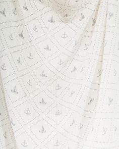 Cotton Swaddle - Anchors Aweigh | Little Unicorn