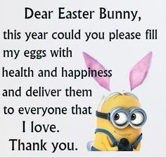 Dear Easter Bunny easter easter quotes easter images easter quote happy easter happy easter quotes quotes for easter minions. minion quotes wishes messages Dear Easter Bunny Humor Minion, Funny Minion Videos, Funny Minion Pictures, Funny Pictures With Quotes, Funny Photos, Really Funny Quotes, Minion Stuff, Funny True Quotes, Cute Minion Quotes