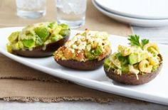 Stuffed Avocados 3 Ways