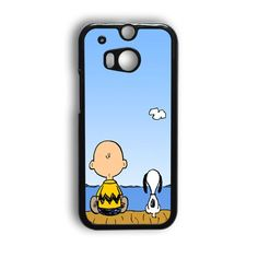Snoopy And Charlie Brown HTC One M8 Case