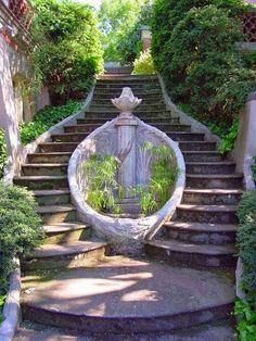 Split Staircase Genoa Italy