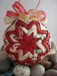 Image result for quilted dq ornament