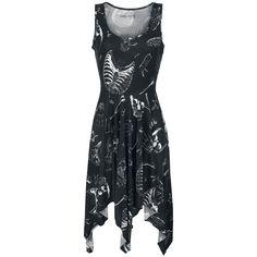 Hankiehem Dress - Kort kjole etter Gothicana by EMP