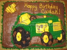 Coolest Farming Tractor Cake Ideas and Photos