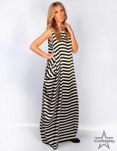 Оригинальные полосатые платья (выкройки)