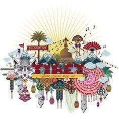 ☀️✨#festival #music #illustration #koralie