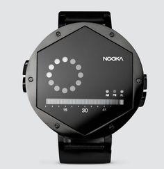 これならわかる!ちょっと見ただけでは時間がわかりづらい、奇抜なデザインの腕時計を数多く世に送り出しているNOOKAから、新しい腕時計「ZEX...