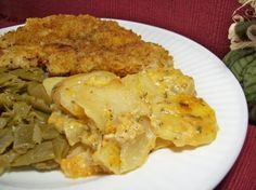 Crock Pot Cheddar Scalloped Potatoes Recipe - Food.com - 76896