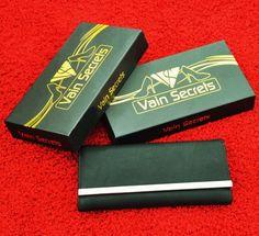 Vain Secrets© Abendtasche Clutch mit Schulterriemen Matt (29 cm Lang - 14 cm Hoch - 6 cm Breit, Schwarz): Amazon.de: Bekleidung