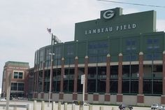 Lambeau Field-home of the Green Bay Packers, never been to a game, but I saw the stadium