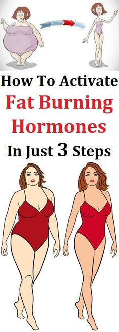HOW TO ACTIVATE FAT BURNING HORMONES IN JUST 3 STEPS