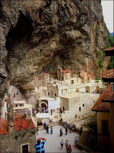 Sumela Monastery... TRABZON TURKIYE