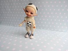 Schuhe Hemd Höschen Mütze FUCHS für RealPuki BJD Puppe Handmade Outfit for Real Puki doll Fairyland von NiceMiniThings auf Etsy