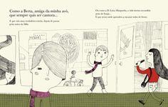 Illustrations by Madalena Matoso, in Enquanto o Meu Cabelo Crescia, by Isabel Minhós Martins. Planeta Tangerina. in stock £12.20