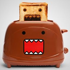 Fancy - Domo Toaster so Japanese.