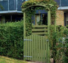Gjør det selv: Ønsk velkommen med en hageportal