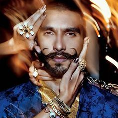 Ranveer Singh during Grazia India magazine shoot