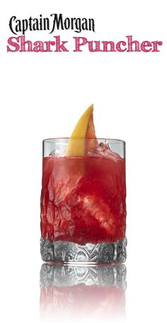 Shark Puncher - coconut rum, orange juice, grapefruit juice, and cranberry juice! LOVE this drink recipe!