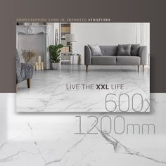 Marble is in (but was it ever out?) and it's big. Literally. XXL. Monumental slabs of glamour, in softer hues and even larger formats for an on trend, contemporary space. Check out the showstopping looks of imported Angelo Straturio, our super-duper, silvery, delicately varianced 600 x 1200 marble-look slabs. As easy on the eye as they are on the pocket, may we add. #livebeautifully #liveglobal #marbletrend #XXLtiles #renovationinspiration #finditstyleit #uView #installationinspo… Large Format, Larger, Tiles, Marble, Glamour, Trends, Eye, Pocket, Contemporary