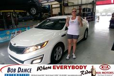 Congratulations to Dawn Andersen on your new car  purchase from Terry Ingold at Bob Dance KIA! #NewCar