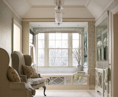 North Country Colonial Master Bath   by Douglas VanderHorn Architects