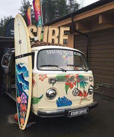 Hawai'ian surfing...VW style!