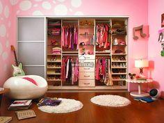 гардеробная для девочки