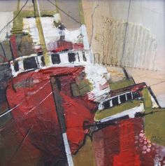 January 2018 – scraggly lines Boat Painting, Sketch Painting, Watercolor Paintings, Watercolour, Collage Art Mixed Media, Impressionism Art, Art Fair, Contemporary Paintings, Abstract Art