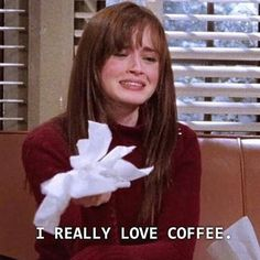 """Tell Us Your Coffee Order And We'll Tell You Which """"Gilmore Girls"""" Character You Are I got Rory! Tell Us Your Coffee Order And We'll Tell You Which """"Gilmore Girls"""" Character You Are Motivacional Quotes, Film Quotes, Mood Quotes, Funny Tv Quotes, Lyric Quotes, Gilmore Girls Characters, Gilmore Girls Quotes, Rio Film, Estilo Rory Gilmore"""