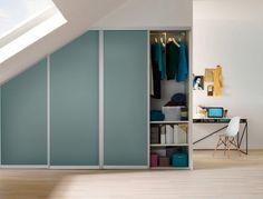 Sliding door closet space