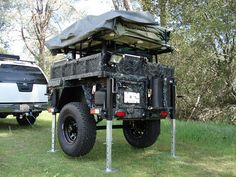 Camper Camping Trailer Diy, Bug Out Trailer, Off Road Camper Trailer, Camper Trailers, Trailer Build, Life Trailer, Expedition Trailer, Overland Trailer, Off Road Camping