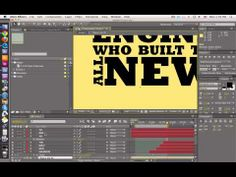 ▶ After Effects tutorial - Ford F150 commercial, text only - Part 2 - YouTube